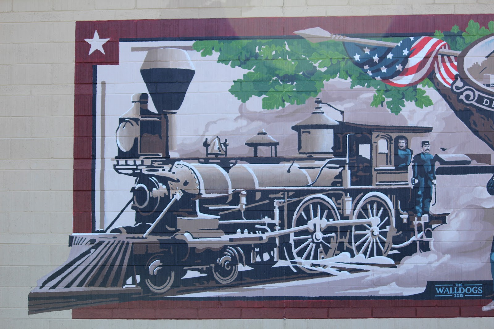 click here to view links to all delavan walldogs murals - Muster Depot