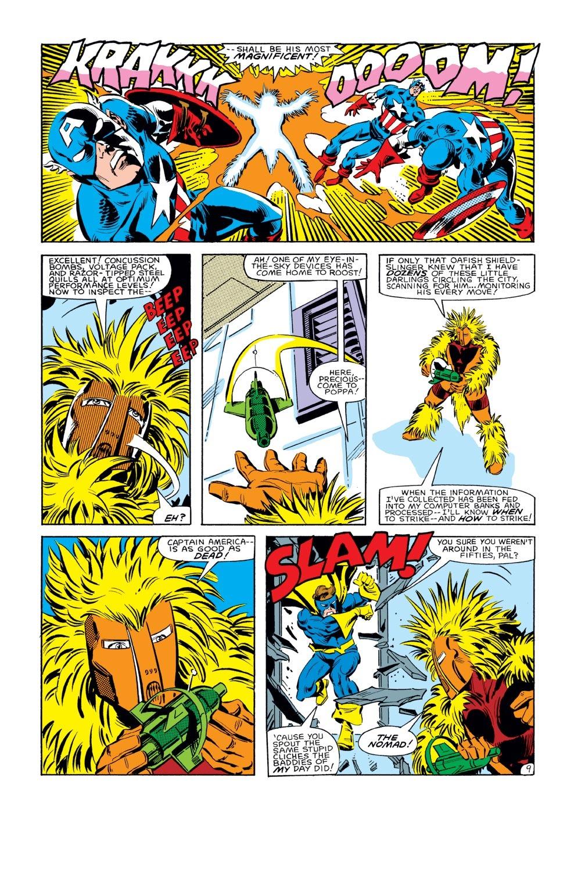 Captain America (1968) Issue #285 #201 - English 10
