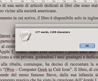 Conteggio parole words Tool Online
