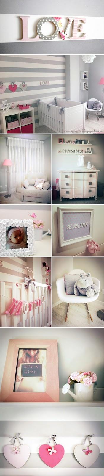 nursery gray habitación bebe gris quarto bebê cinza