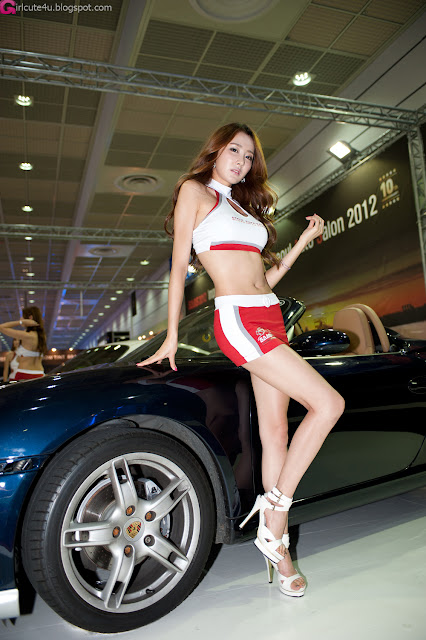 2 Eun Bin Yang - Seoul Auto Salon 2012-Very cute asian girl - girlcute4u.blogspot.com