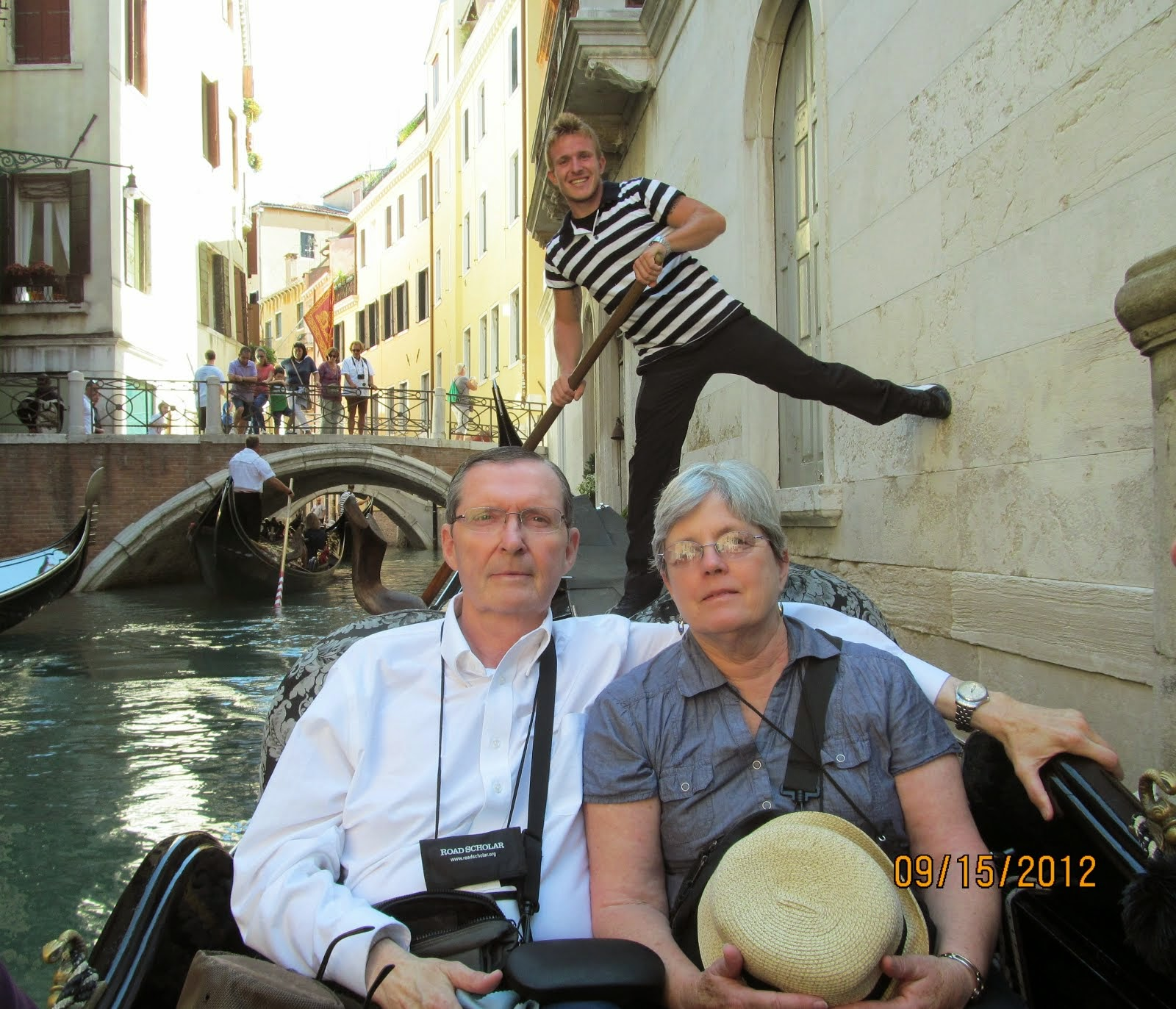Honest - we loved Venice, but the glare off the water...