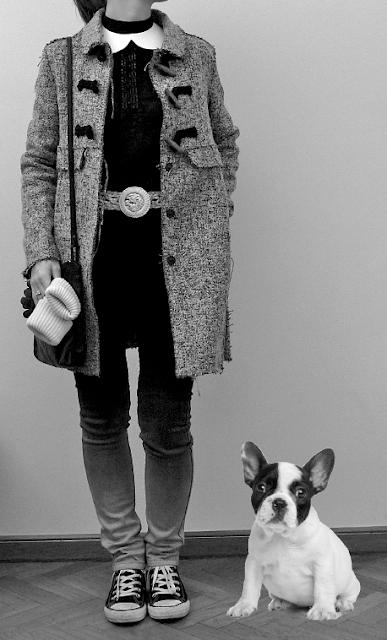 Look Street Style Fashion Ootd Desigual Cheap Monday (acheté sur Urban Outfitters) Zara 3 Suisses Converses Monoprix GAP Swarovski
