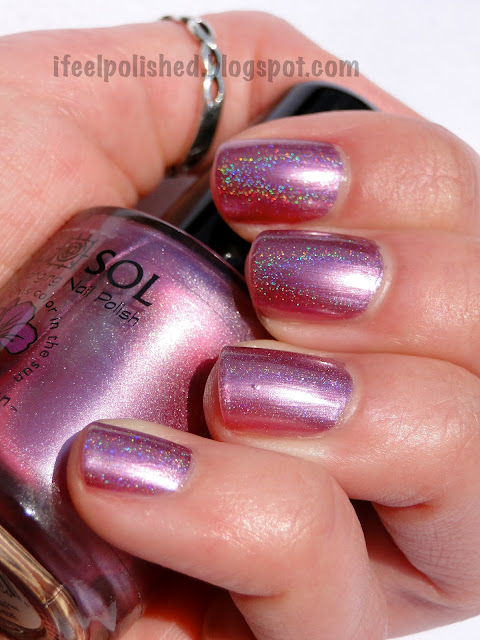 Color Changing Holographic Polish