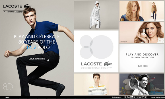 60+ Fashion Websites – Perfect blend of fashion and technology ...