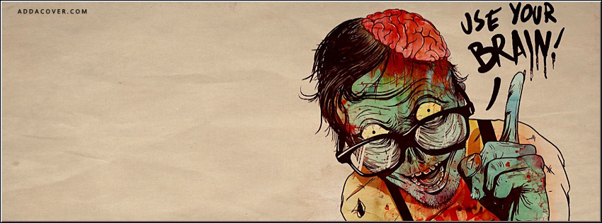 Korku zombi face kapaklar 14