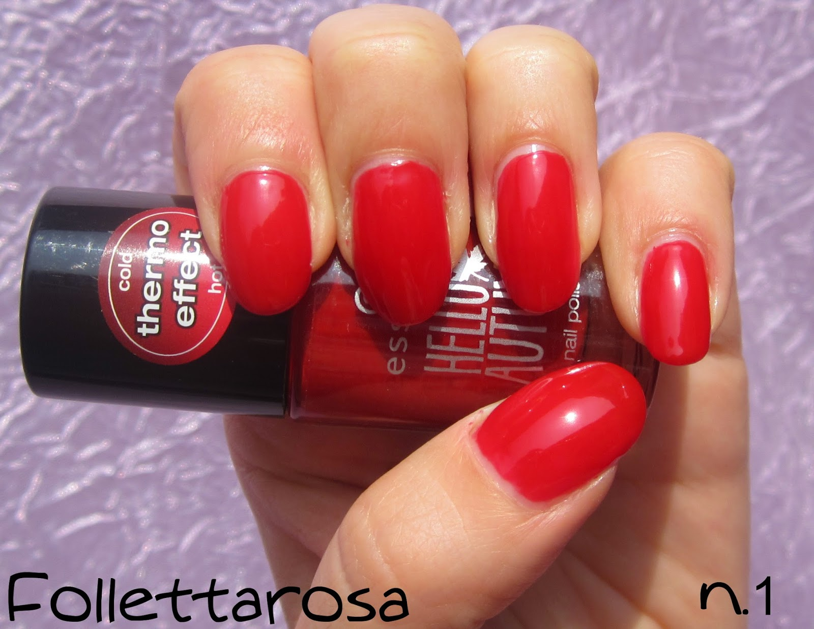 smalto termico essence 01 beauti fall swatch