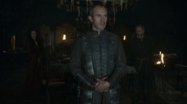 Stannis entre Melisandre y Davos - Juego de Tronos en los siete reinos