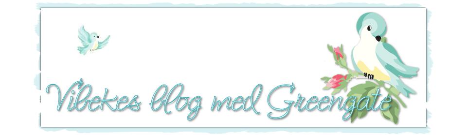 Vibekes blog med pastelfarver og Greengate