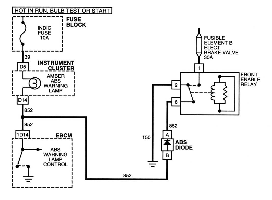 Martyn Auvaa Ttec 4825 Abs Relay Test Basic Switch Circuit This Happen When The Light Goes Off And Motor Starts As Turns On Demonstration Is Showing In Below