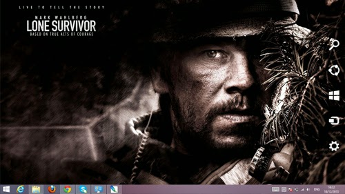 Lone Survivor Theme For Windows 7 And 8 8.1