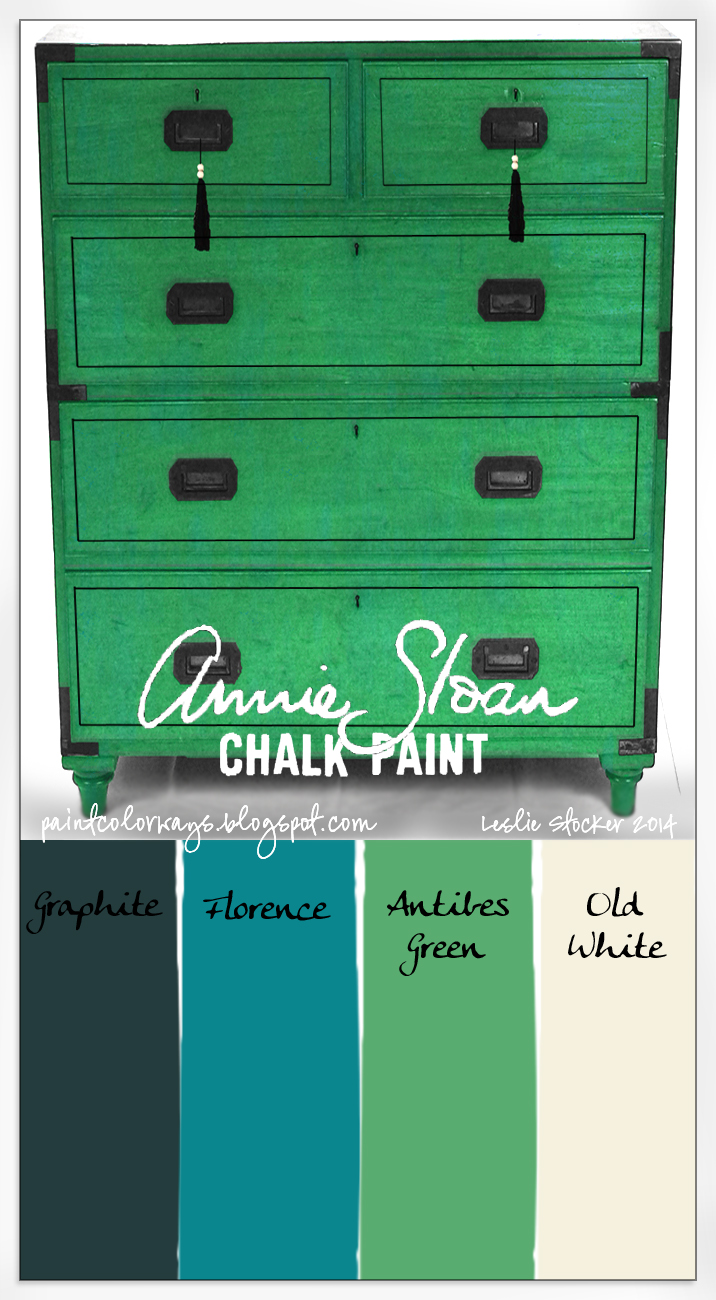 Colorways chinoiserie chalk paint - How to mix emerald green paint ...