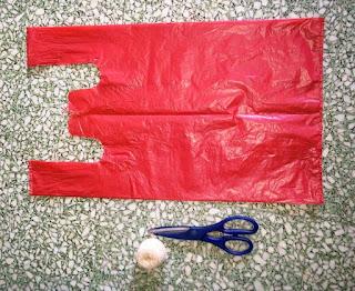 Bikin Mainan TERJUN PAYUNG dari Plastik KRESEK Bekas
