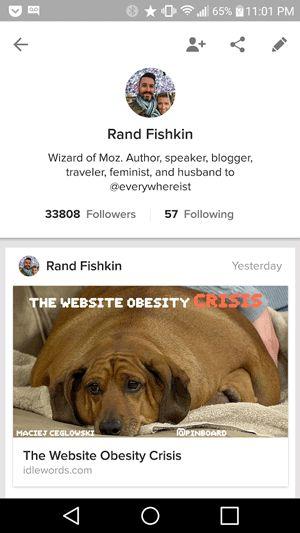 Rand Fishkin twitter profiles SEO