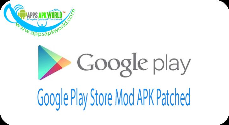 google play store mod apk app