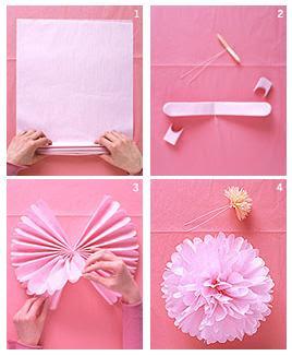 Juliana regala y decora como hacer pompones de colores - Como se hacen los pompones ...