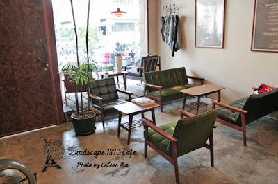 台中。Landscape 1893 Cafe。住宅區傢俱咖啡店 - Chloe Ma ...
