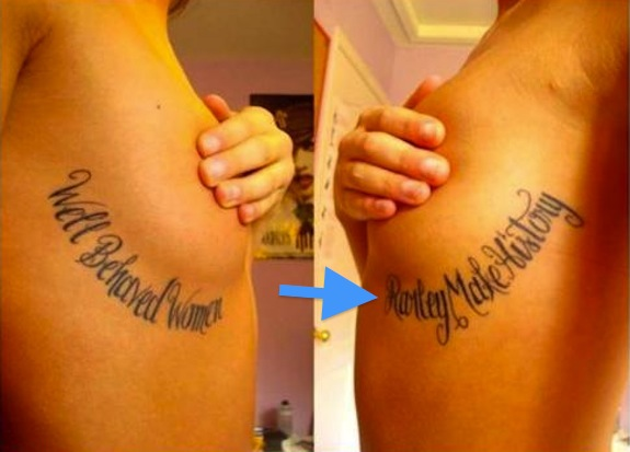 Hilarious Tattoo Mistakes