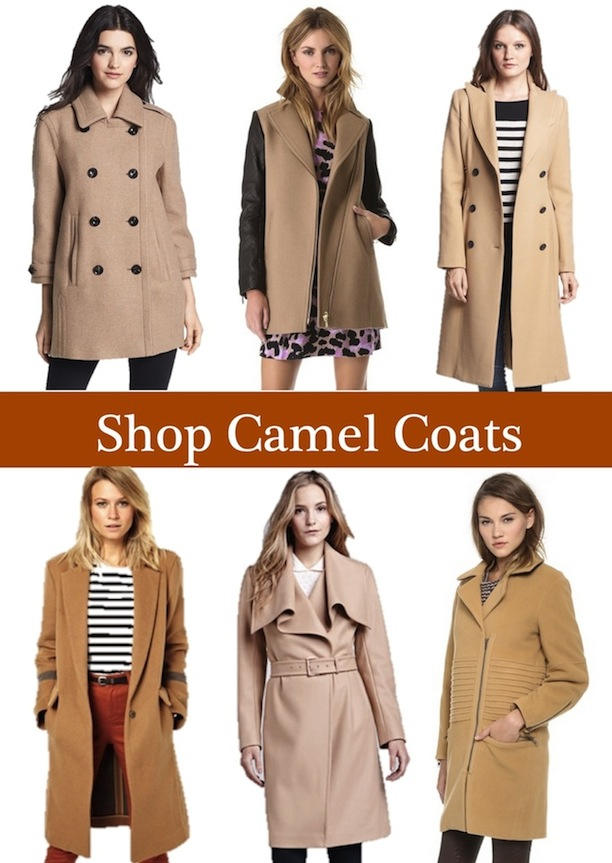 camel coats for women
