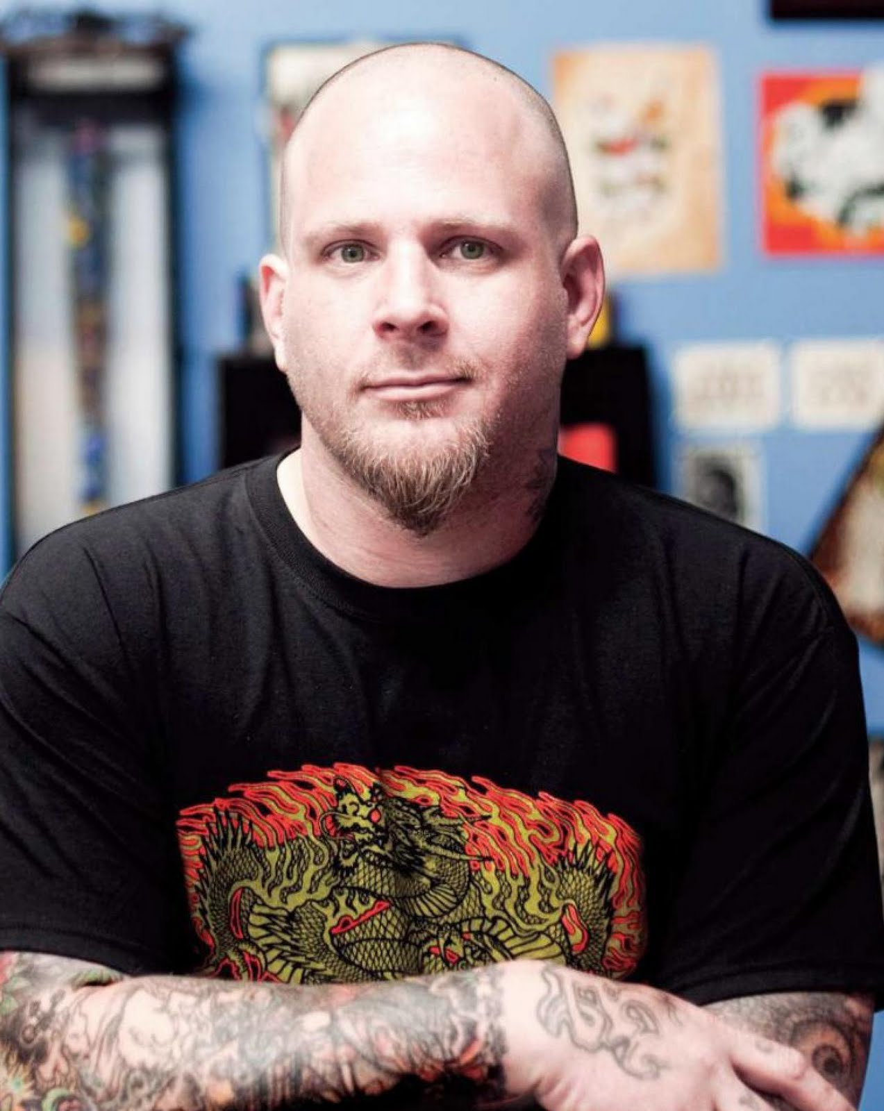Show me your tattoo clay decker tattoo artist for Josh homme tattoos