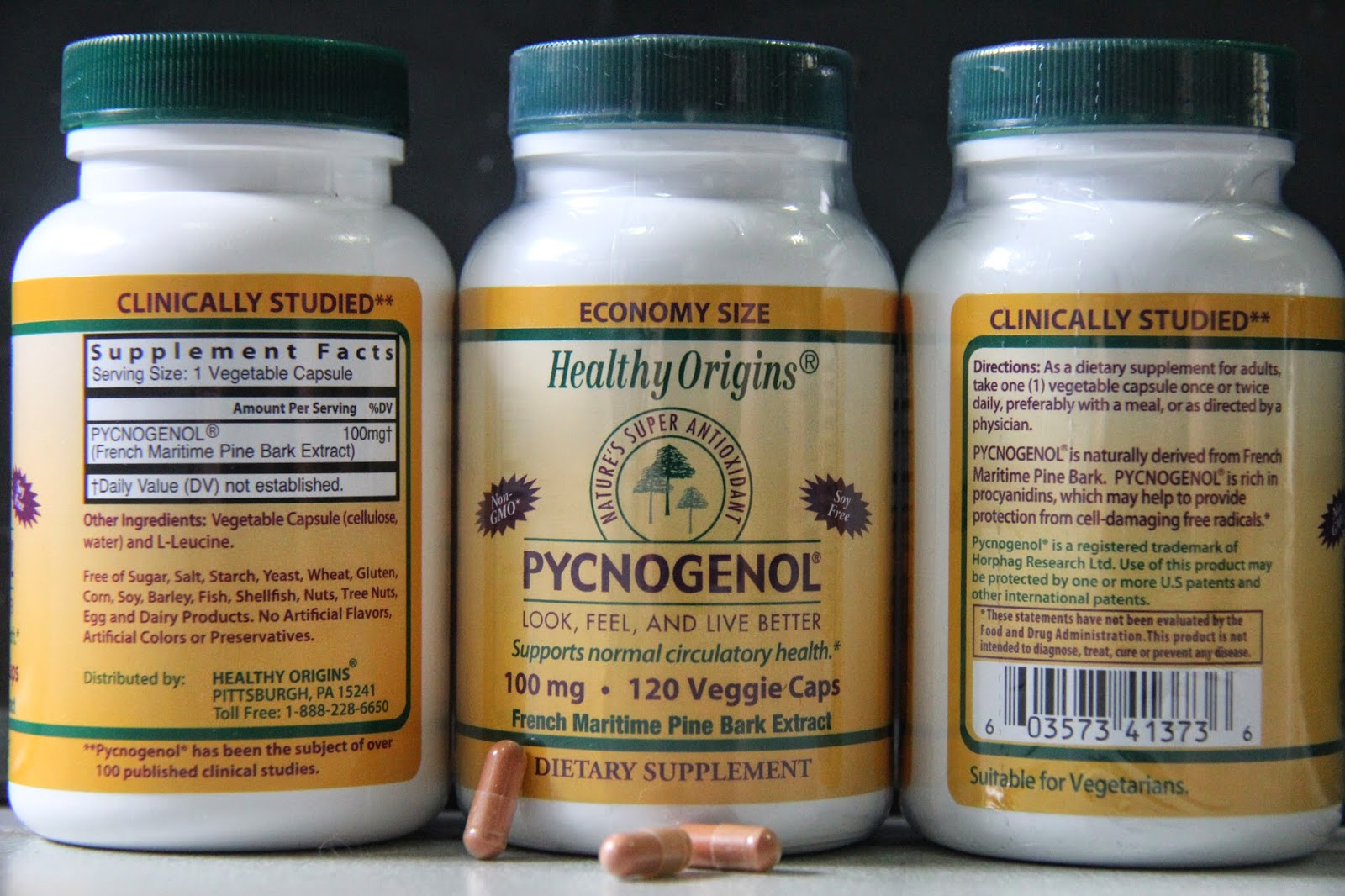 pycnogenol for varicose veins