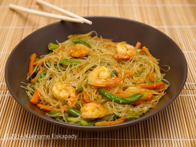 Kulinarne Eskapady Makaron Po Singapursku