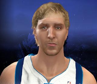 NBA 2K14 Dirk Nowitzki Cyberface Mod