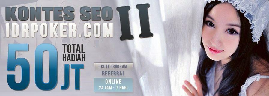 Agen Situs Judi Poker IDRPOKER.com