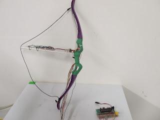 arco e flecha com AVR
