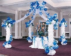 Best balloons balloon decoration course for Balloon decoration course