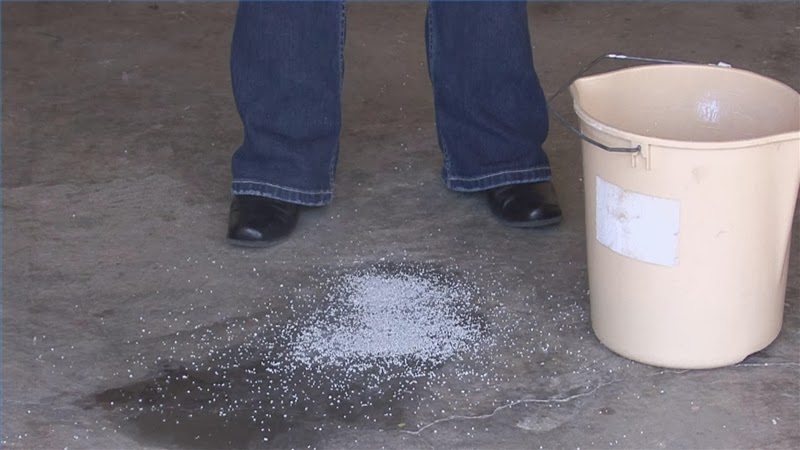 Remove all how to remove grease stains from for Grease stains on concrete