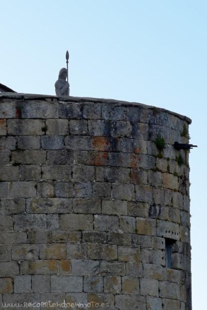 Detalle castillo de Puebla de Sanabria