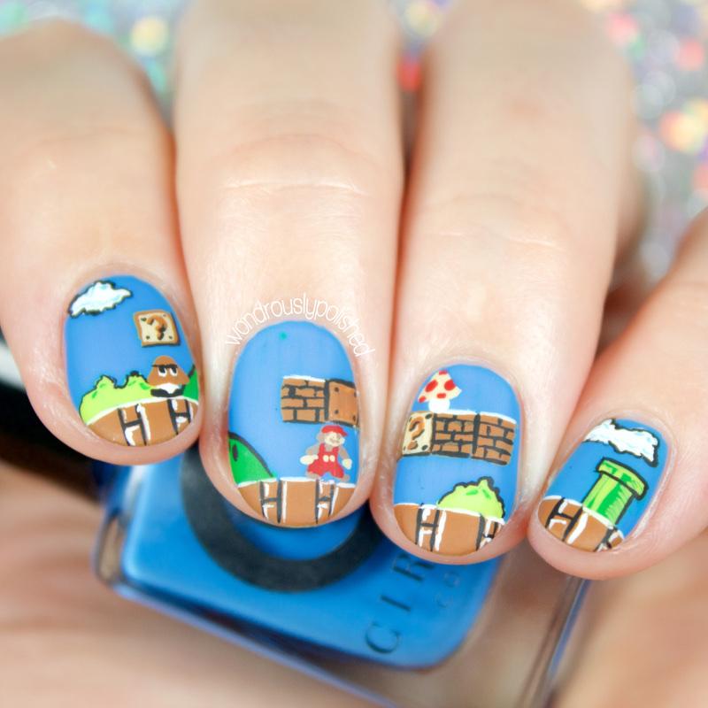 Wondrously Polished: 40 Great Nail Art Ideas - Geeks