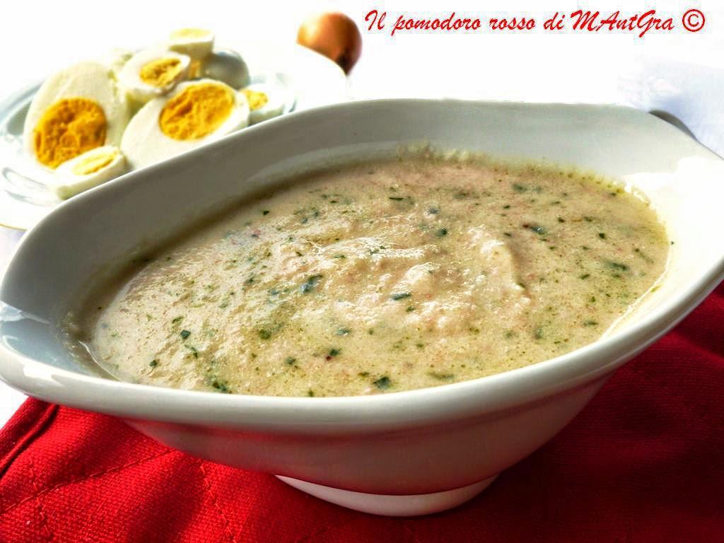 salsa allo scalogno e pancetta (salsa del pover'uomo)