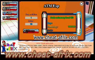 Cheat ATM Exp Ninja Saga Agust 2013 By Cheat-Afrix