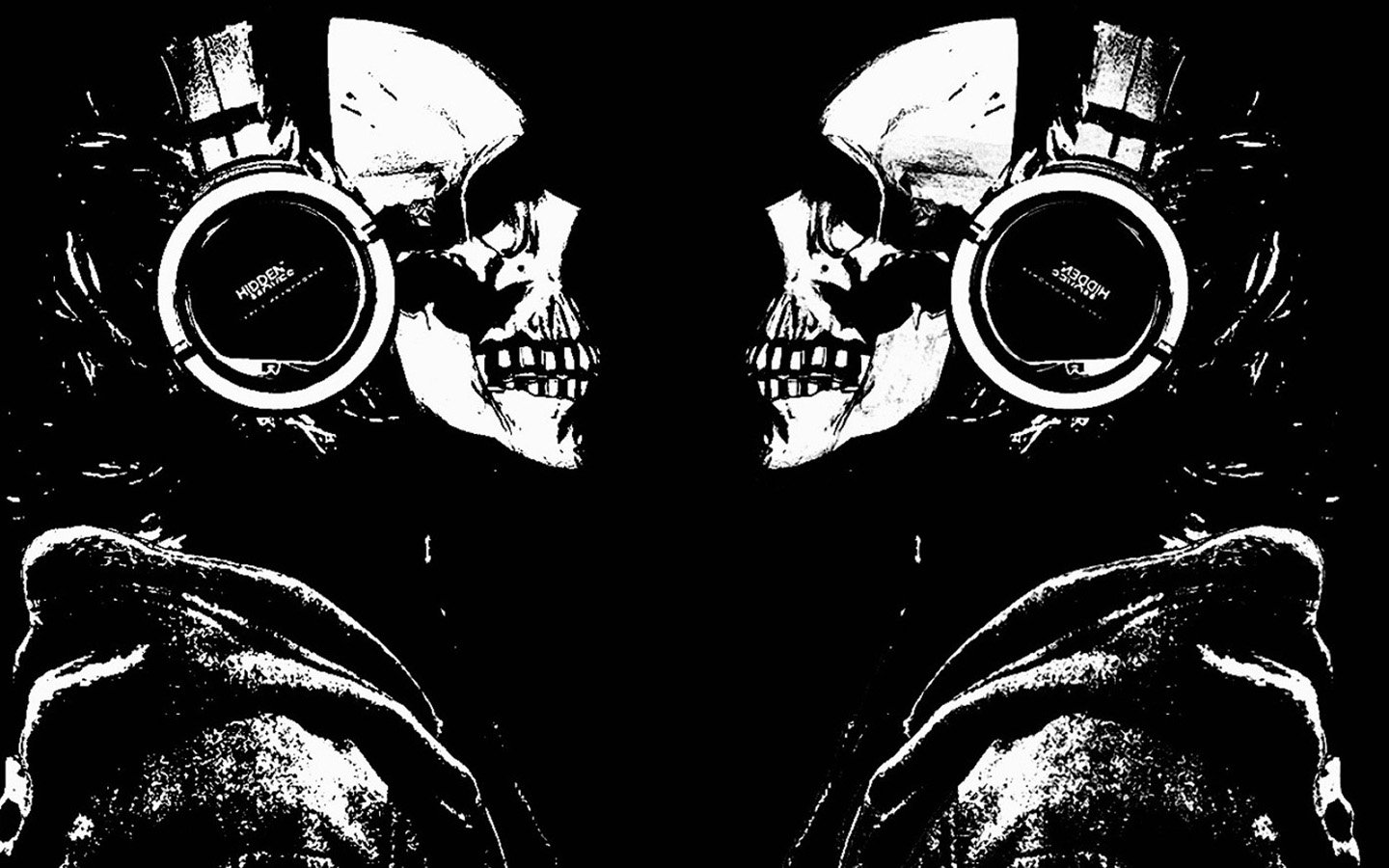 Scary Wallpaper - Music Skull Wallpaper HD | Scary Wallpapers