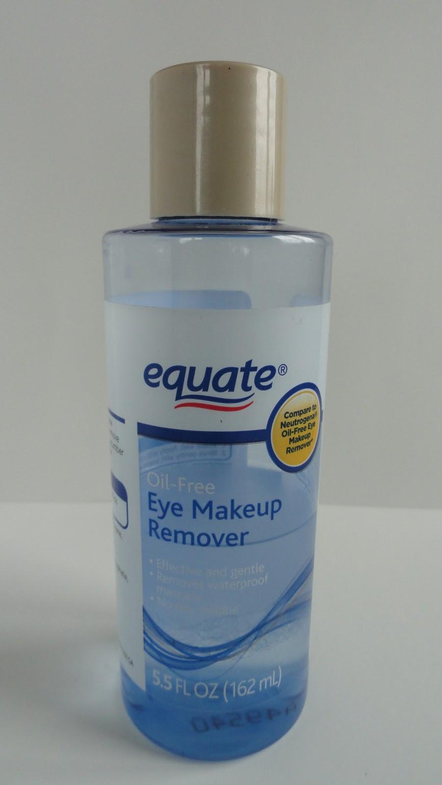 Equate Eye Makeup Remover