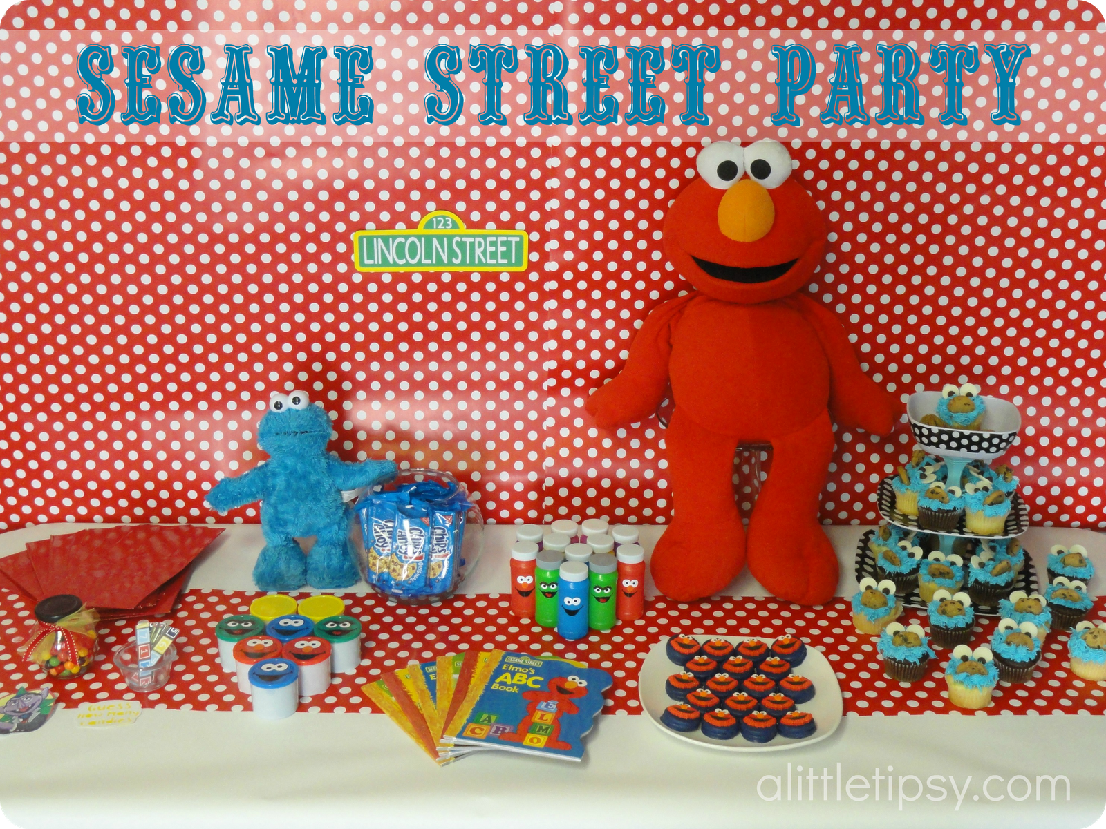 Sesame Street Birthday Party A Little Tipsy