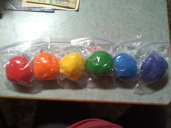 how to get colored playdough out of carpet