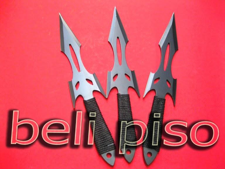 Jual Pisau Lempar Set Fox Head WSA 377 belipiso.com