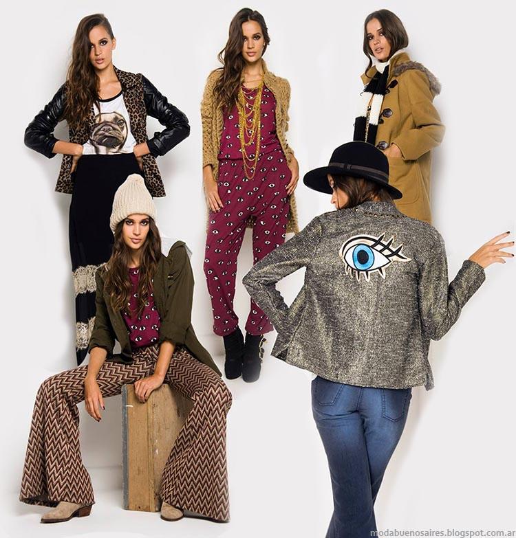 Moda juvenil otoño invierno 2014 Argentina - Indumentaria de mujer colección Doll Store otoño invierno 2014.