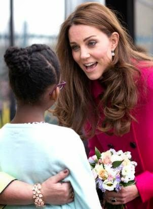 Kate's Last Appearance Before Birth of Royal Baby #2