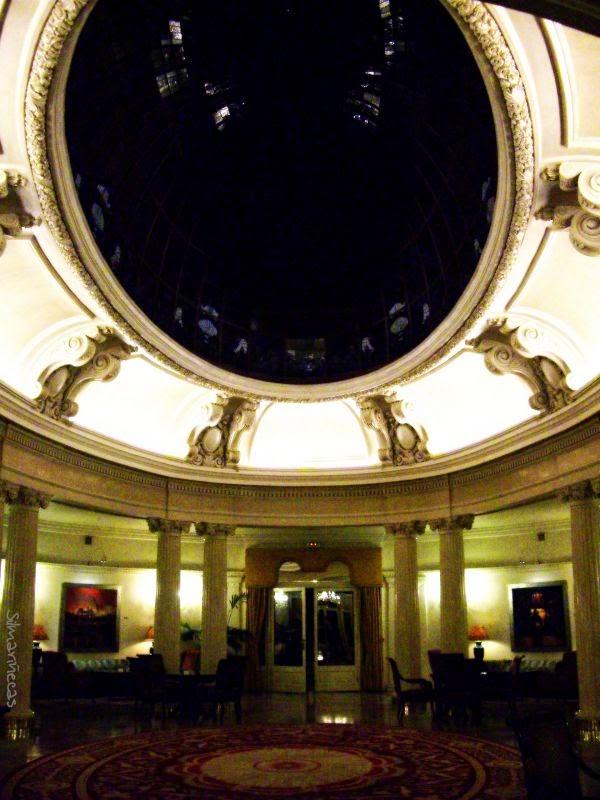 salón de la cúpula Hotel Carlton Bilbao