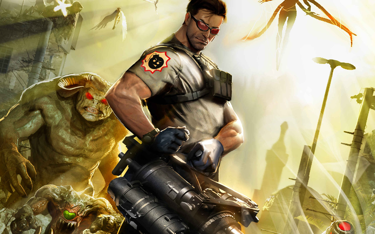 Serious Sam 3 PC Game || Top Wallpapers Download .blogspot.com