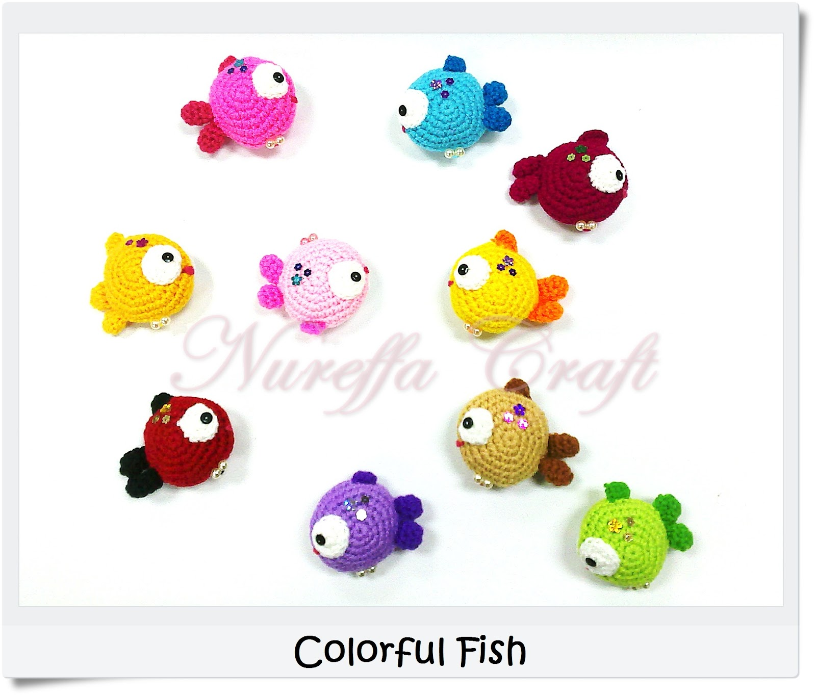 Free Amigurumi Patterns : Nureffa Craft ::: :: CoLoRFisH - amigurumi free pattern