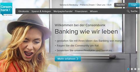 Accueil Consorsbank