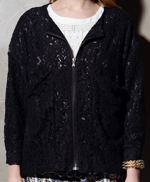 Rachel Oversized Lace Jacket