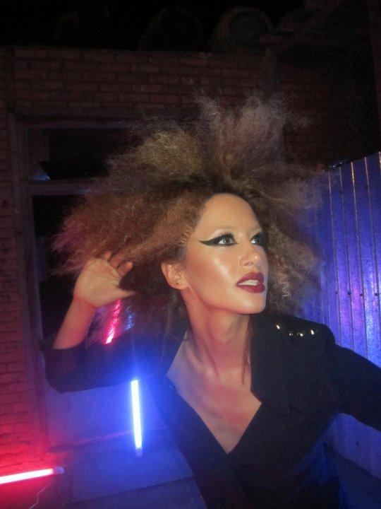 Frizura Hair Style Dafina Zeqiri And Make Up   Foto Artis - Candydoll