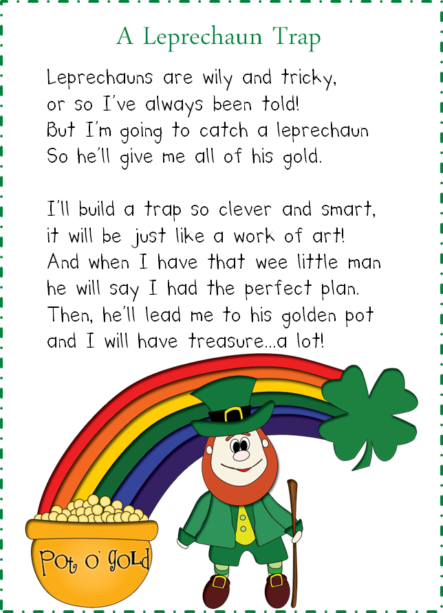 http://www.teacherspayteachers.com/Product/How-to-Plan-a-Leprechaun-Visit-217474