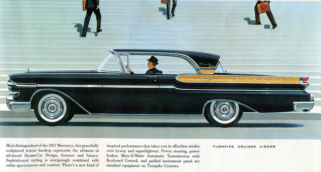 Everyday interesting photos of vintage car ads from 1950s to 1980s